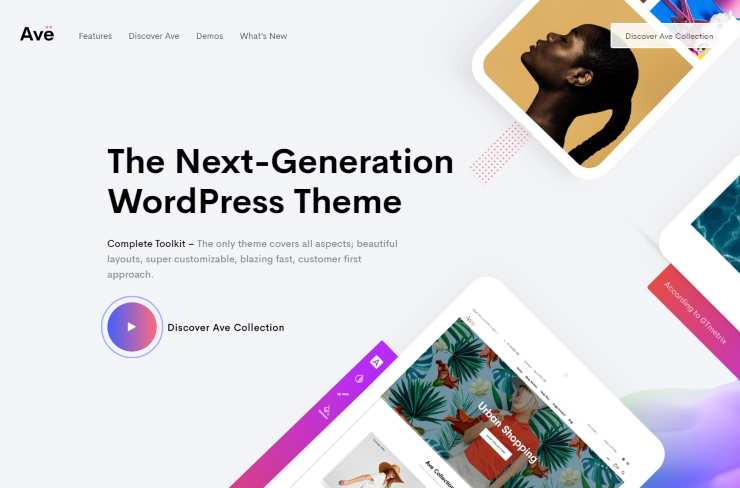 ave wordpress theme