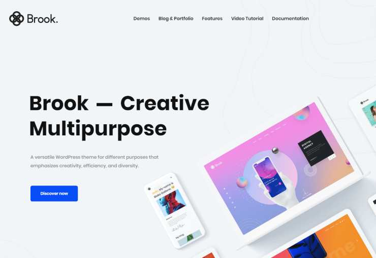 brook wordpress theme