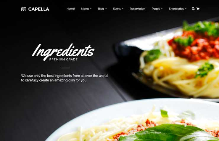 capella wordpress theme
