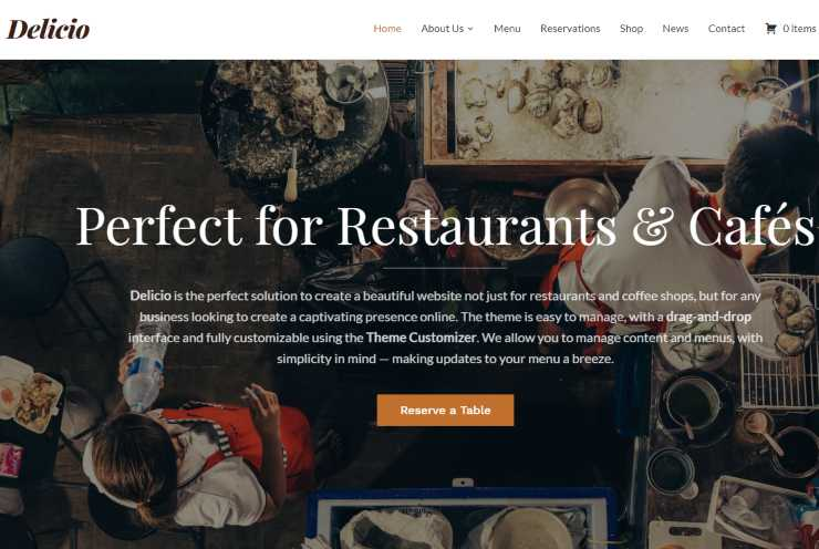 delicio wordpress theme
