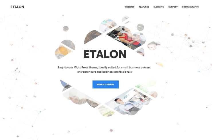 etalon wordpress theme