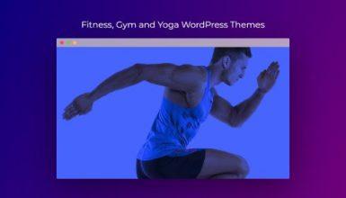 fitness and yoga wordpress theme