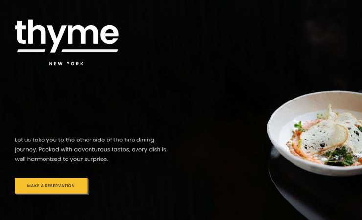 gastro wordpress theme