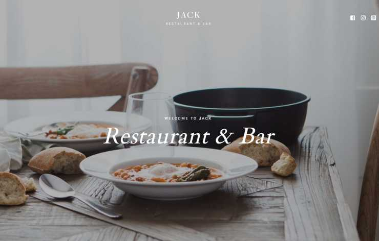 jack wordpress theme