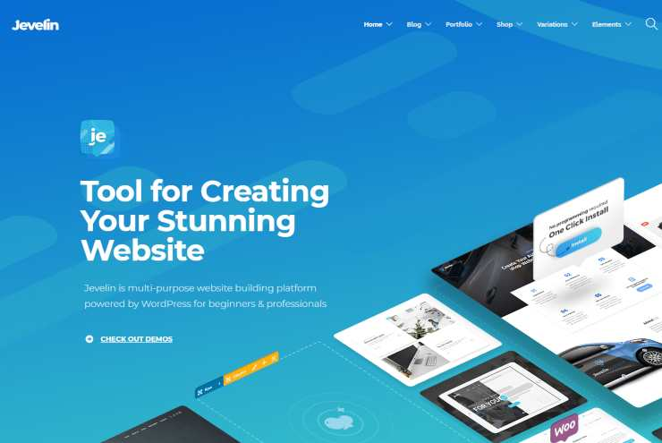 jevelin wordpress theme