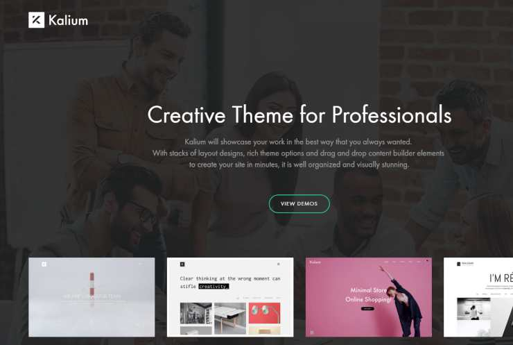 kalium wordpress theme
