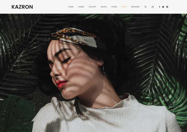 kazron wordpress theme