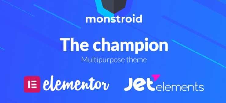 monstroid wordpres theme
