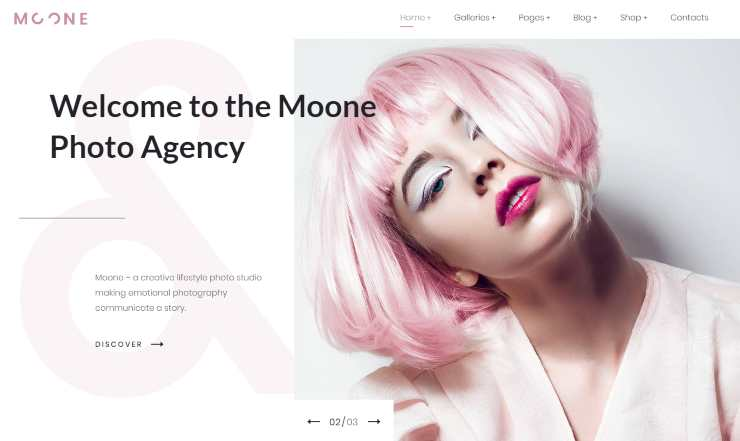 moone WordPress theme