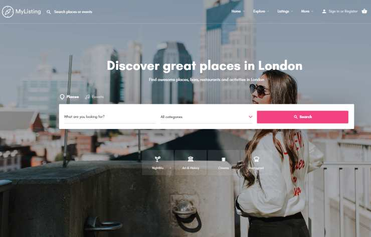 mylisting wordpress theme