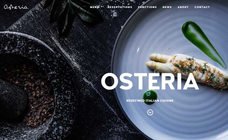 osteria wordpress theme