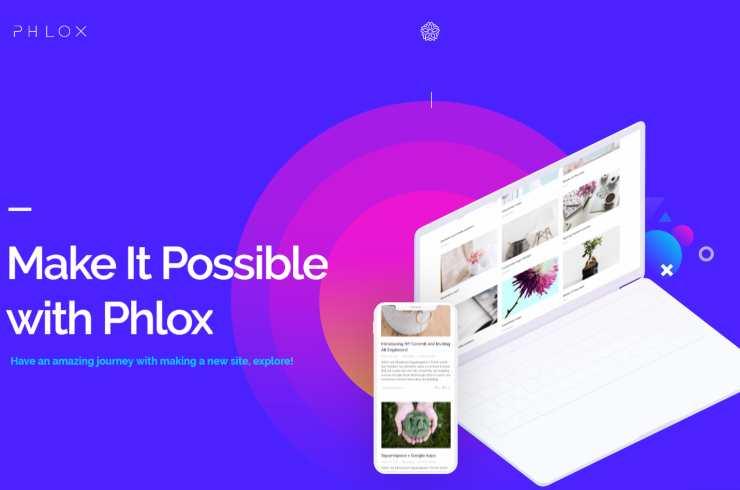phloxpro wordpress theme