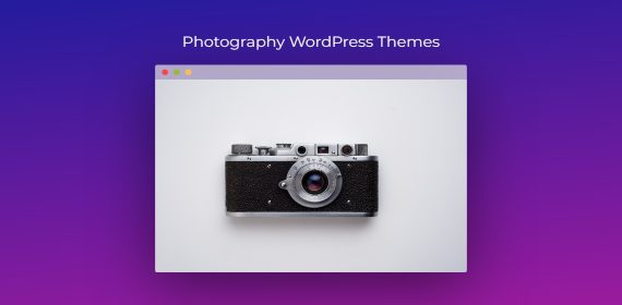Elegant and useful WordPress themes for photographers