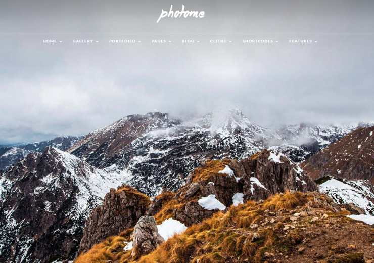 photome WordPress theme