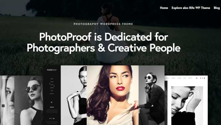 photoproof WordPress theme