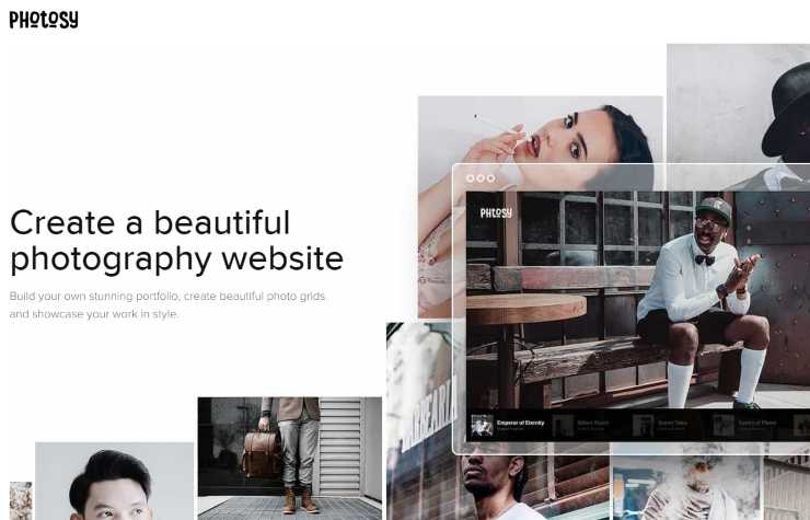 photosy WordPress theme