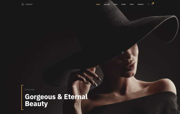 sansara WordPress Theme