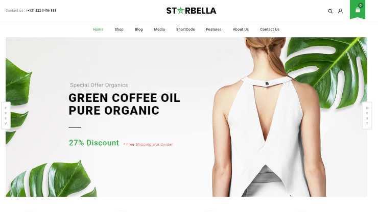 starbella wordpress theme