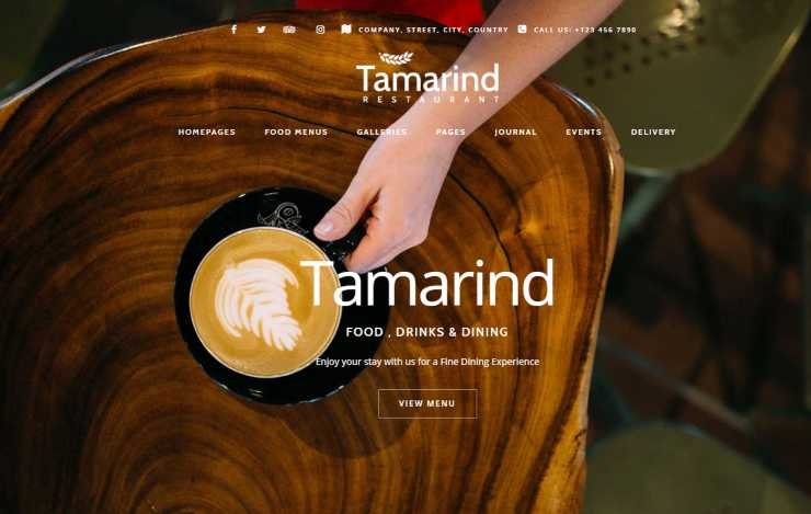tamarind wordpress theme