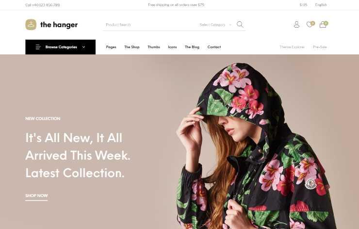 the-hanger wordpress theme