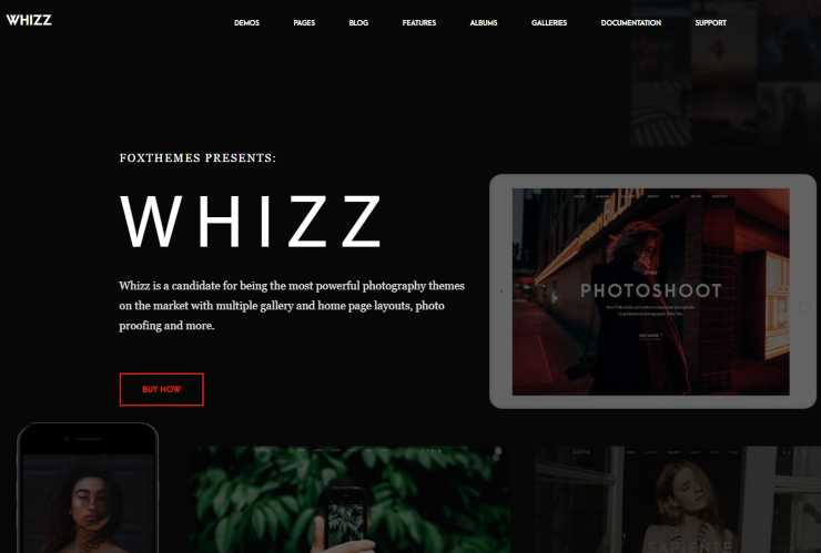 whizz WordPress theme